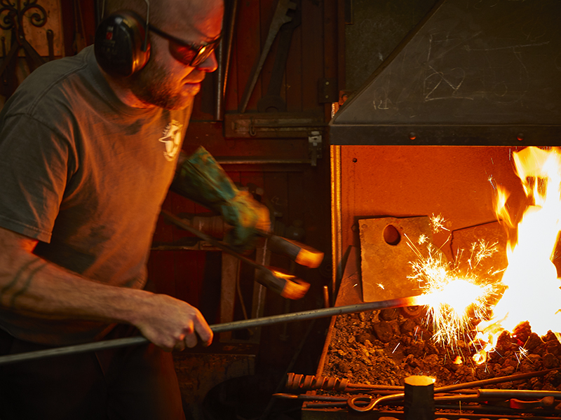 Blacksmith James Price