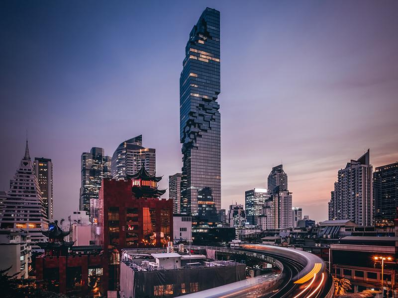 King Power Mahanakhon building in Bangkok, Thailand