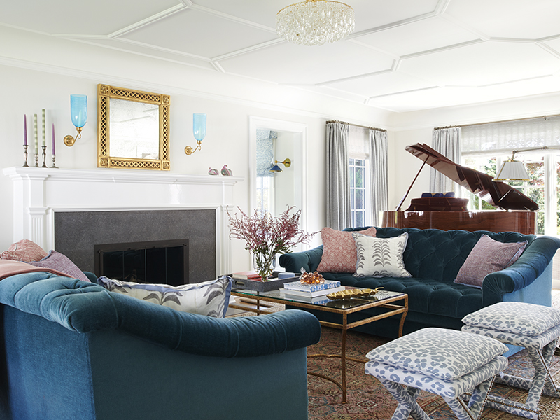 Top interor designers Massuco Warner created this Capitol Hill residence