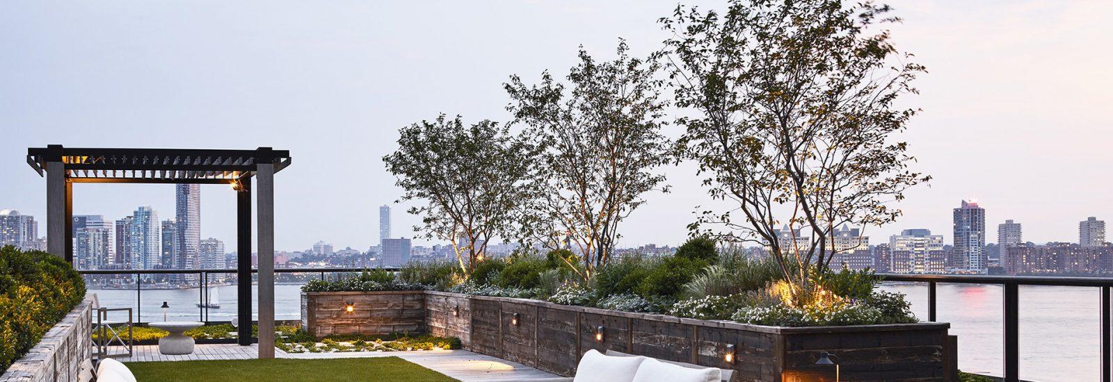 New York City roof garden