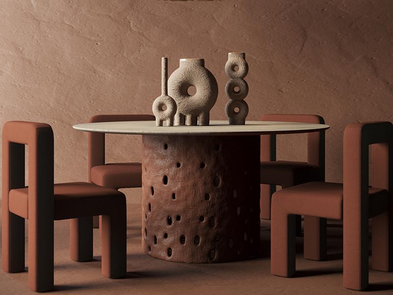 Toptun chairs by Faina