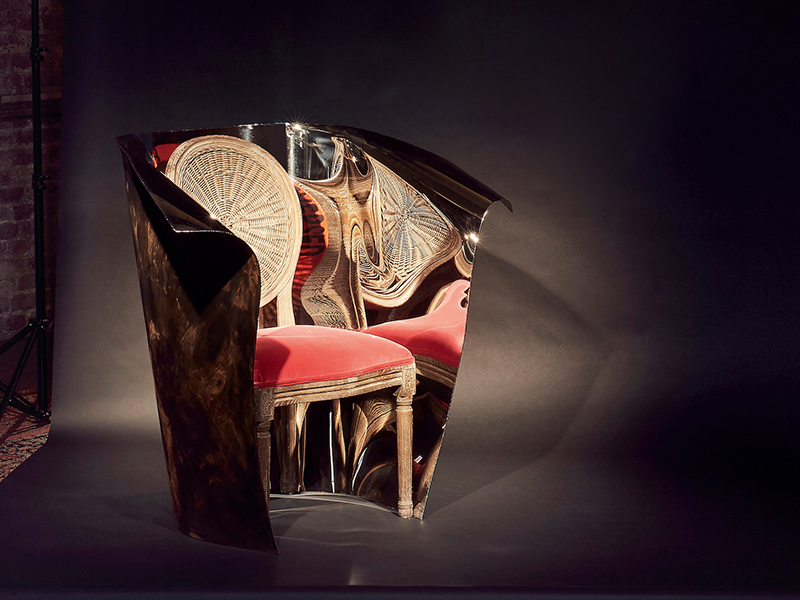 OKA Washakie chair by Ron Arad