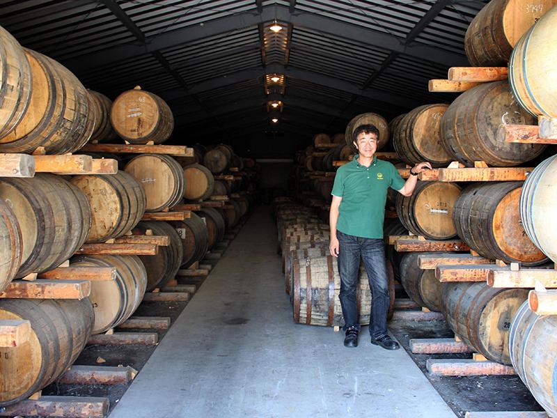 Venture Whisky owner Ichiro Akuto