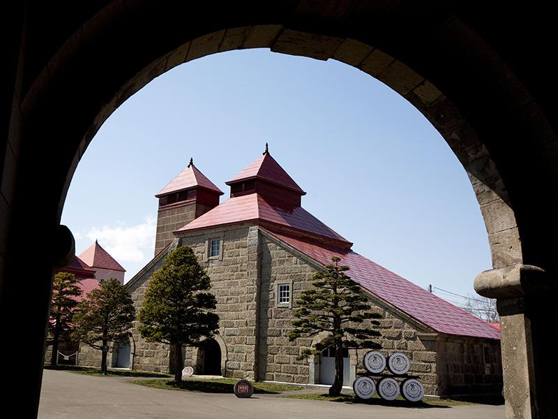 The kiln tower at Nikka's Yoichi distillery