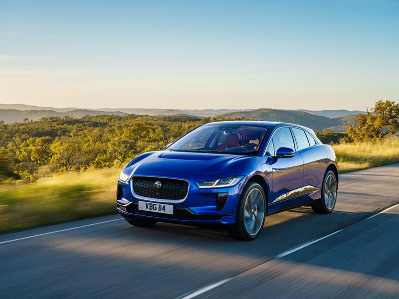 Jaguar's iPace electric car