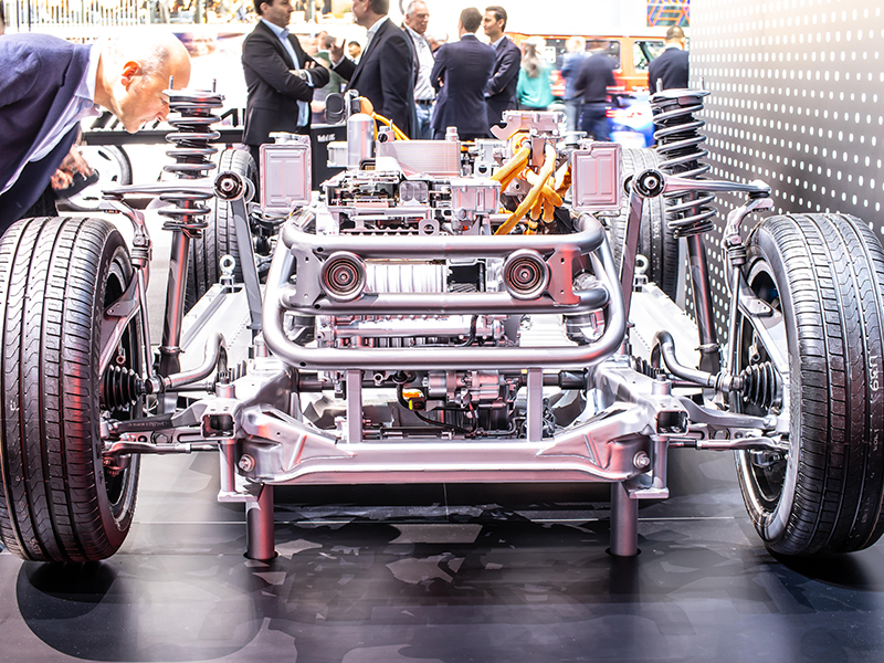 Mercedes-Benz EQC SUV engine
