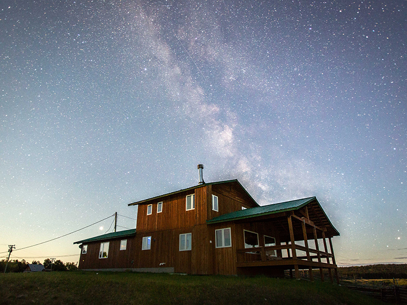 The Old Knowles Ranch in British Columbia, Canada