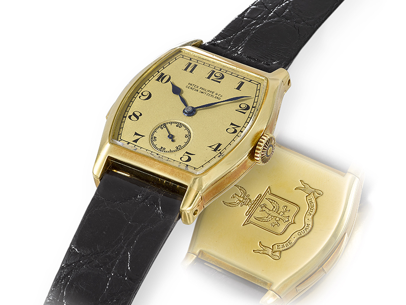 The Patek Philippe Minute Repeating Wristwatch owned by Henry Graves, Jr.