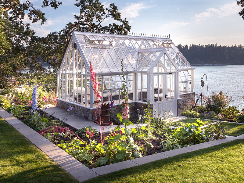 A Victorian Lodge Glasshouse by Hartley Botanics