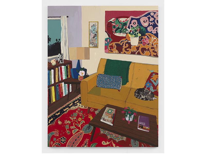 Interior by Hilary Pecis