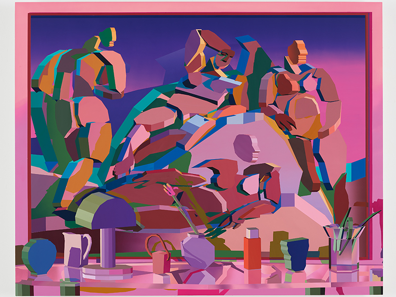 Still Life with Painting by Jonathan Chapline
