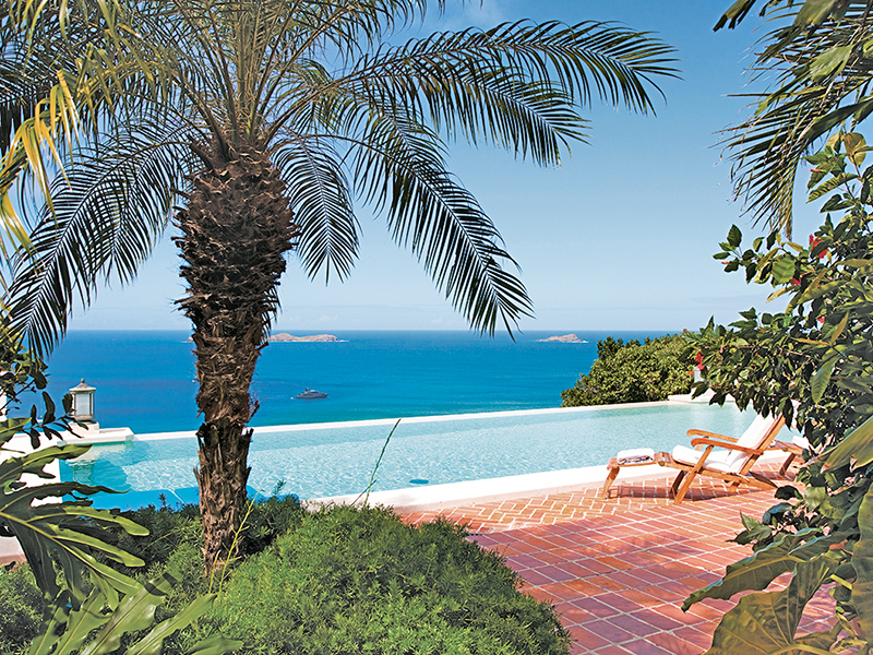Villa RKK in Petit Saline, St Barth, Caribbean