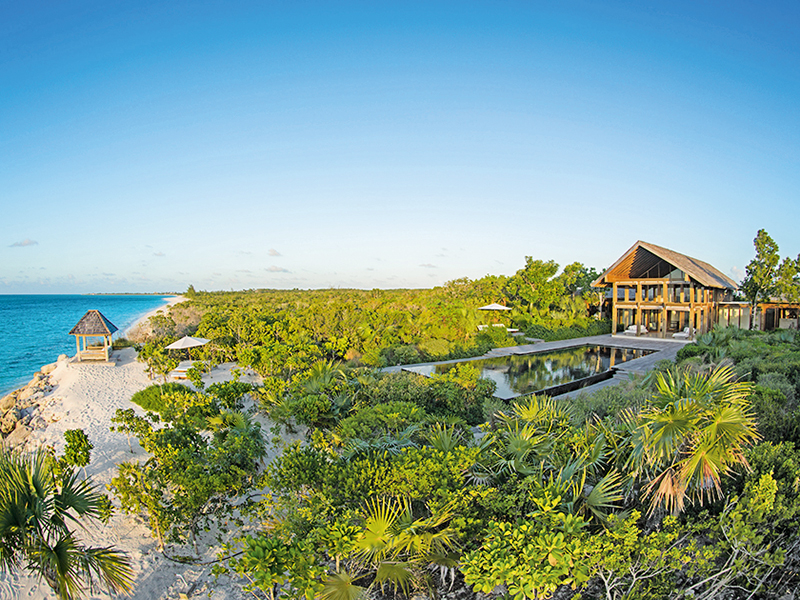 Point House in Parrot Cay, Turks & Caicos, Caribbean-