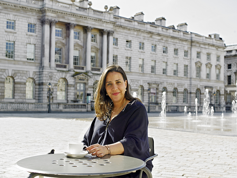 Touria El Glaoui, founder of 1-54 an art fair which champions Contemporary African Artists