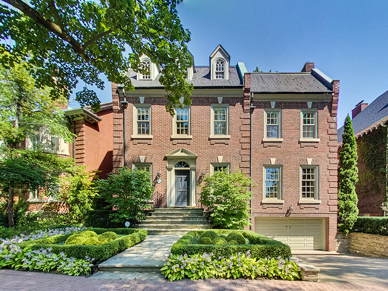 71 Chestnut Park, Toronto – a great example of homes on offer in the Canadian real estate market