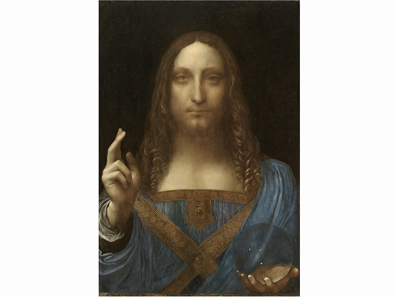 Salvator Mundi by Leonardo da Vinci, the most expensive old master painting ever sold