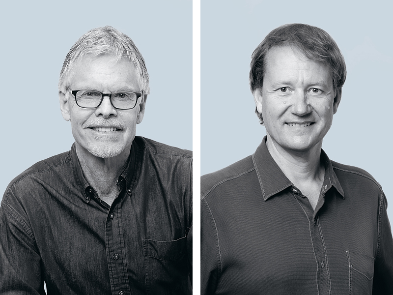John Cottle and Rich Carr of CCY Architects