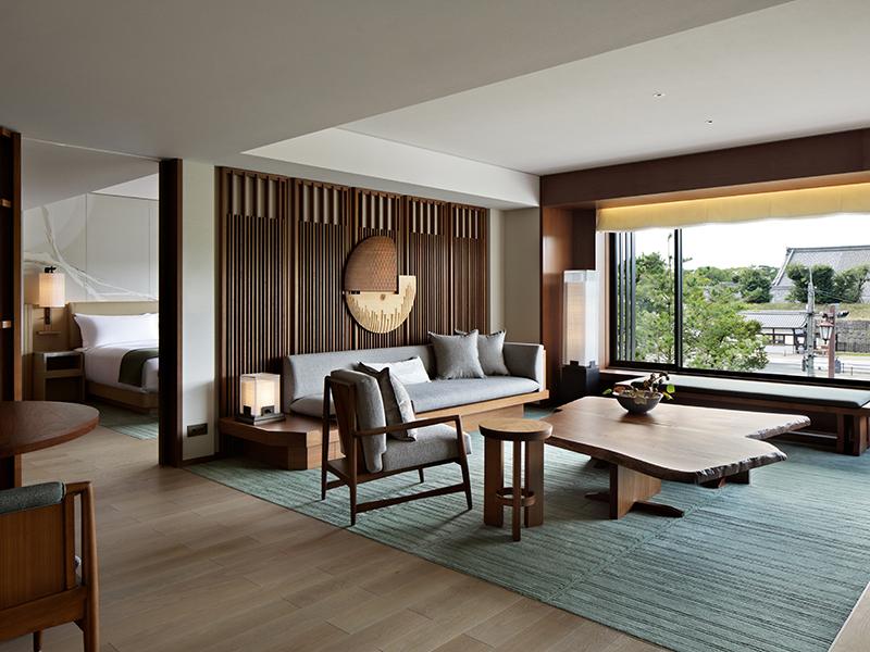 The Mitsui Kyoto's Nijo suite