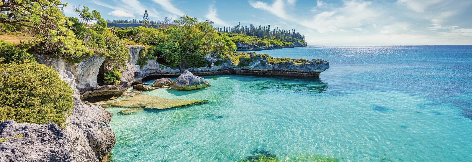 Tadine Bay Lagoon, Maré Island, New Caledonia