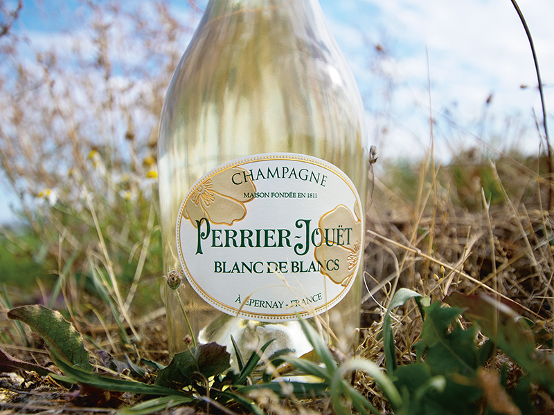 Perrier-Jouët's Blanc de Blancs champagne