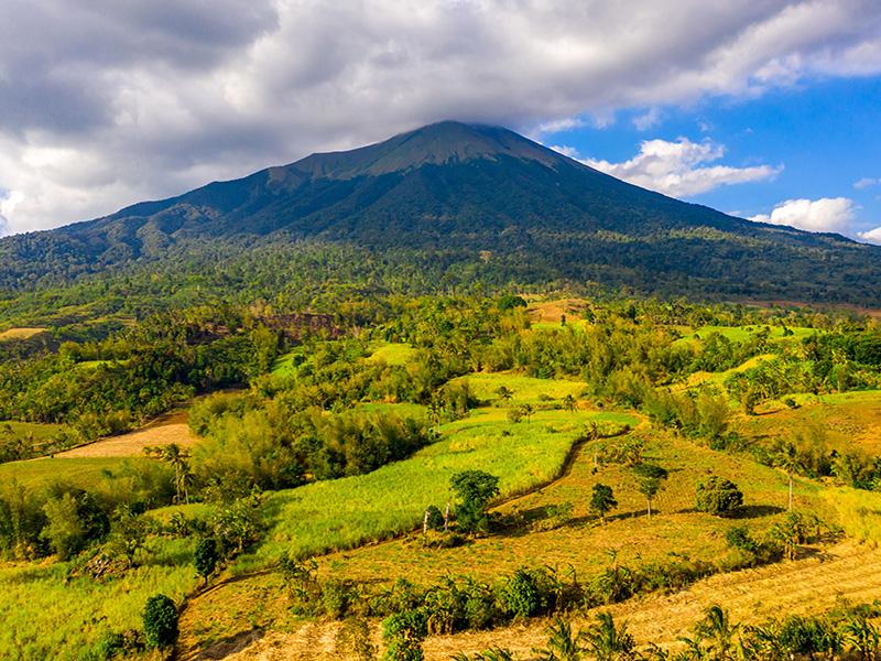 Mt. Kanlaon, Canlaon City, Philippines – the scene of Don Papa rum distillery