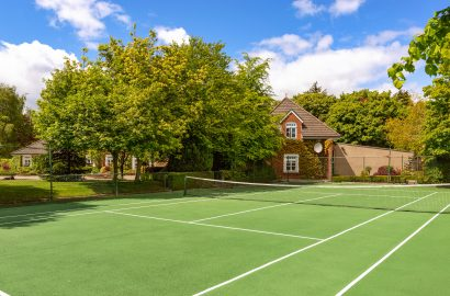 Tennis, Anyone? 8 Homes with Private Courts