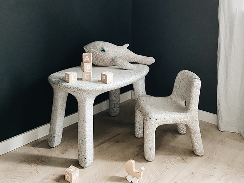 Eco-friendly design for chair and table