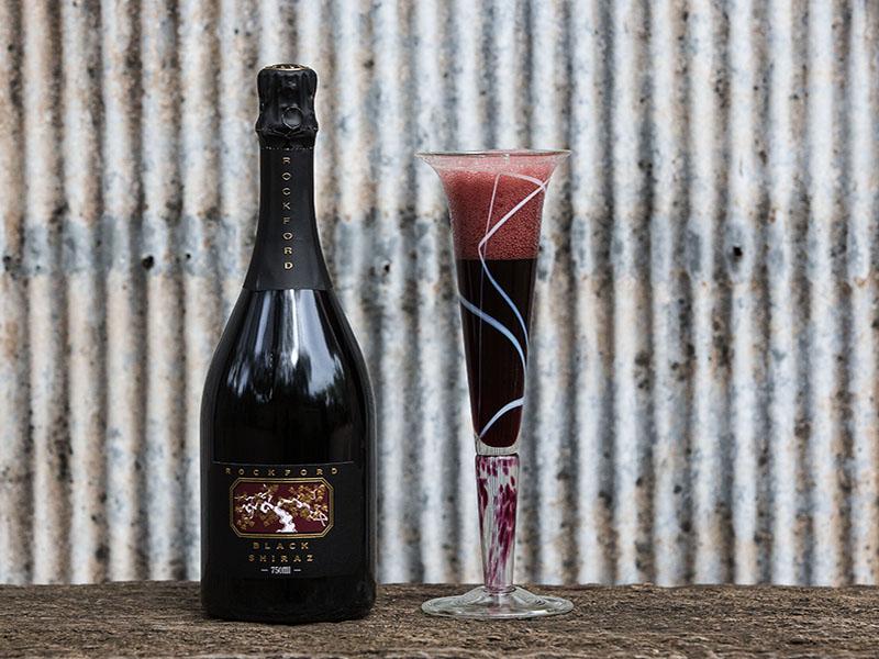 Black Shiraz - bottle and glass copy