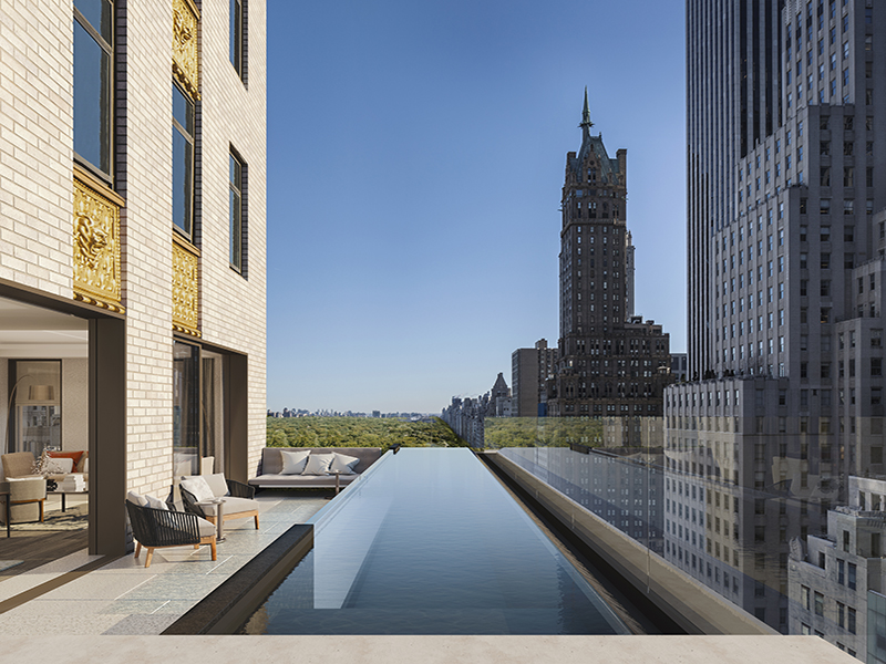 Luxury Hotels with Spas don't come any finer than the iconic Aman New York