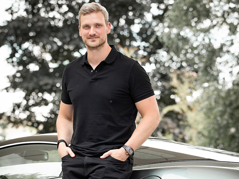 Portrait of Rob Melville Director of Design McLaren