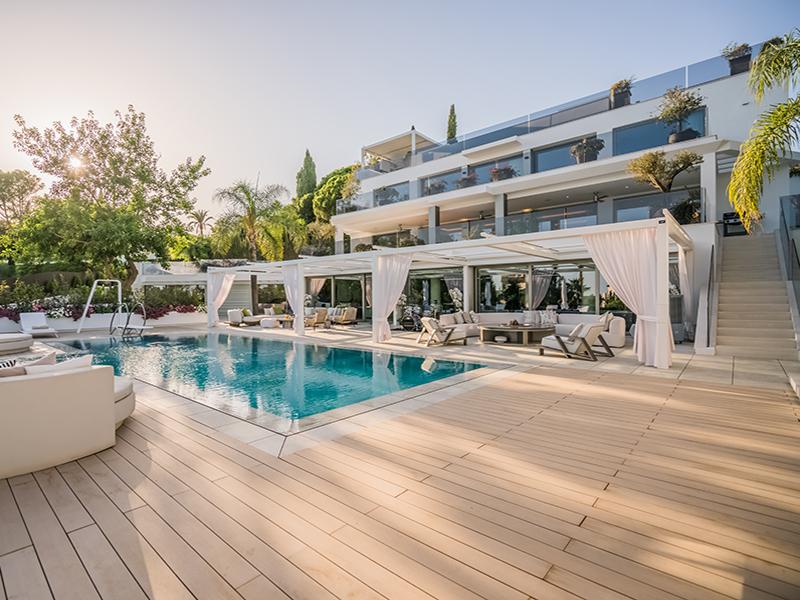 Villa terrace