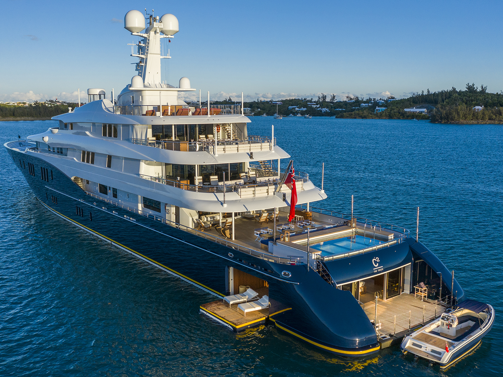 The C2 superyacht from Burgess