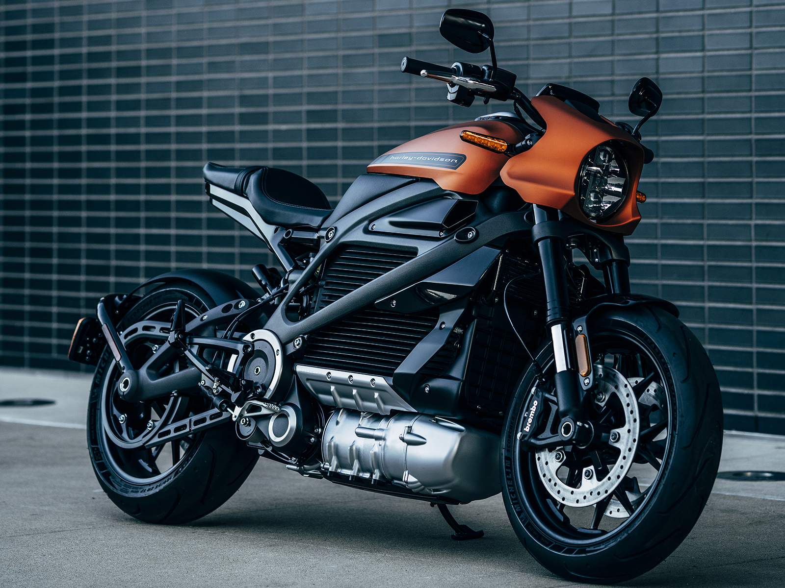 The new Harley Davidson Livewire One motorcycle