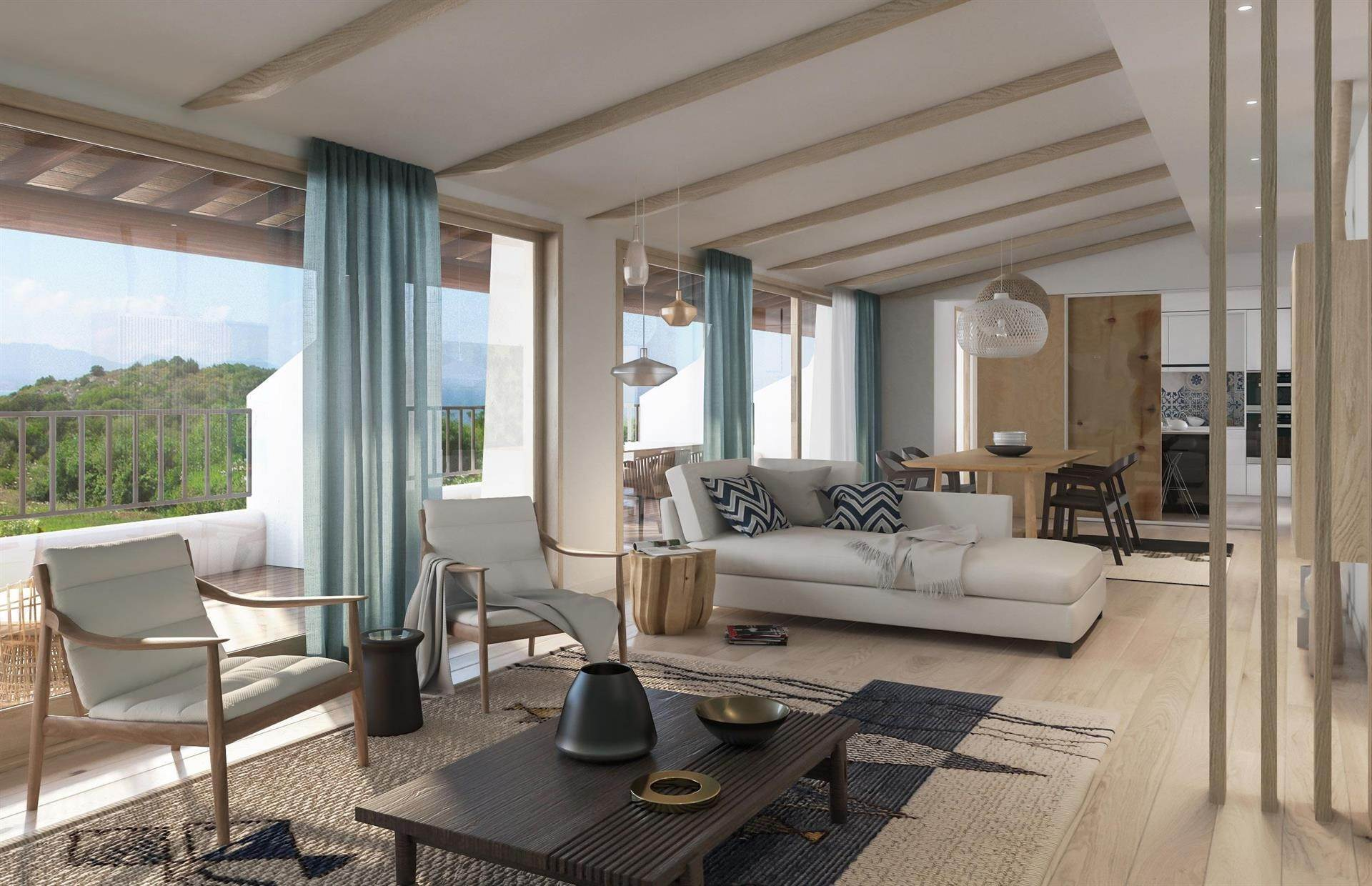 Appartementen voor Verkoop op Penthouse with Sea View - New Project Capo Ceraso, Olbia Tempio,0026 Italië