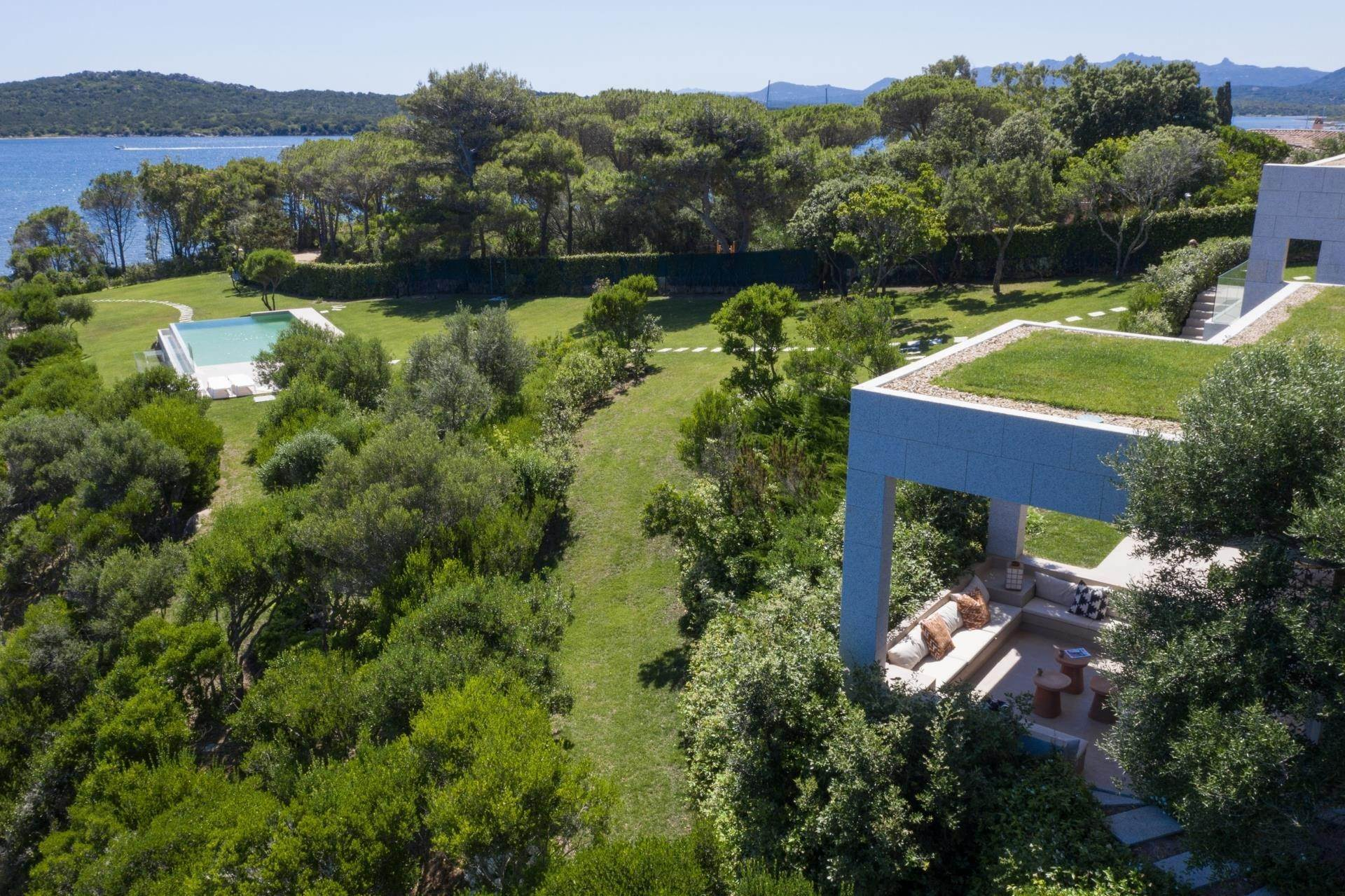 6. Villa/Townhouse for Sale at Waterfront Villa La Coluccia Costa Smeralda, Olbia Tempio,07020 Italy