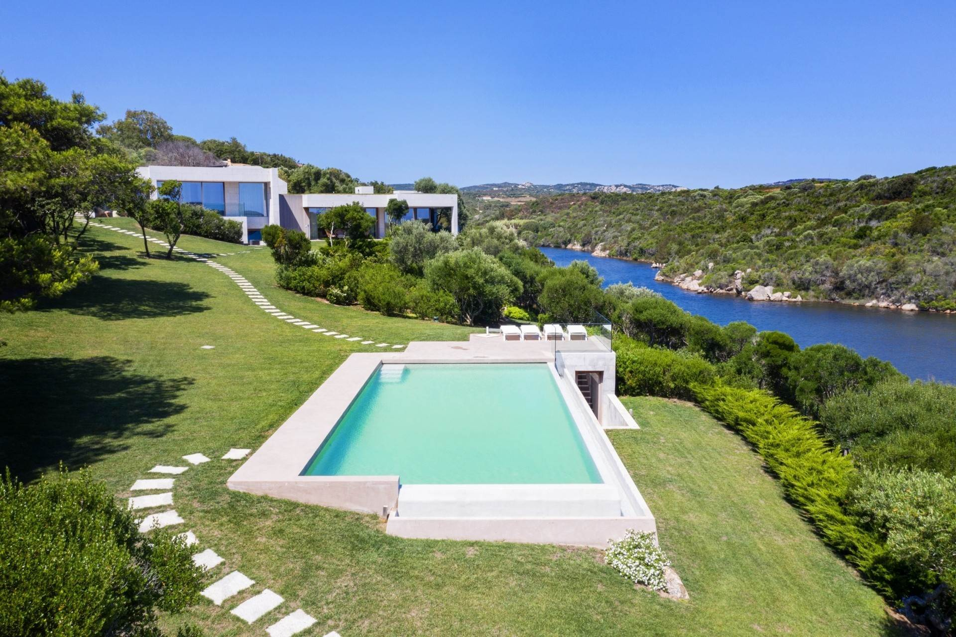 2. Villa/Townhouse for Sale at Waterfront Villa La Coluccia Costa Smeralda, Olbia Tempio,07020 Italy