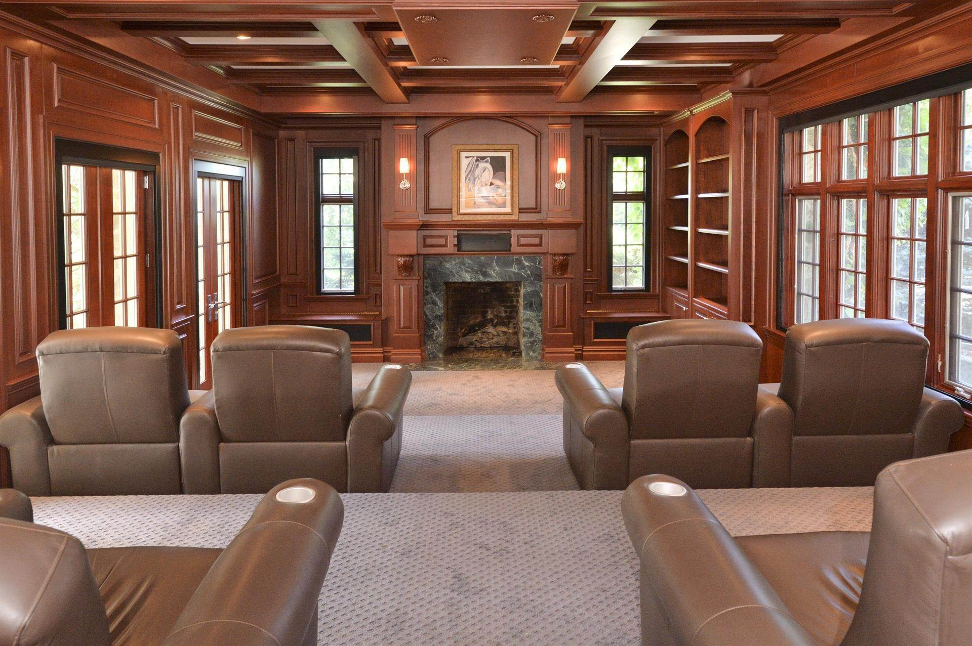 11. Single Family Home 為 出售 在 Celebrity Stunner - 5+ Acre Family Compound Saddle River, 新澤西州,07458 美國