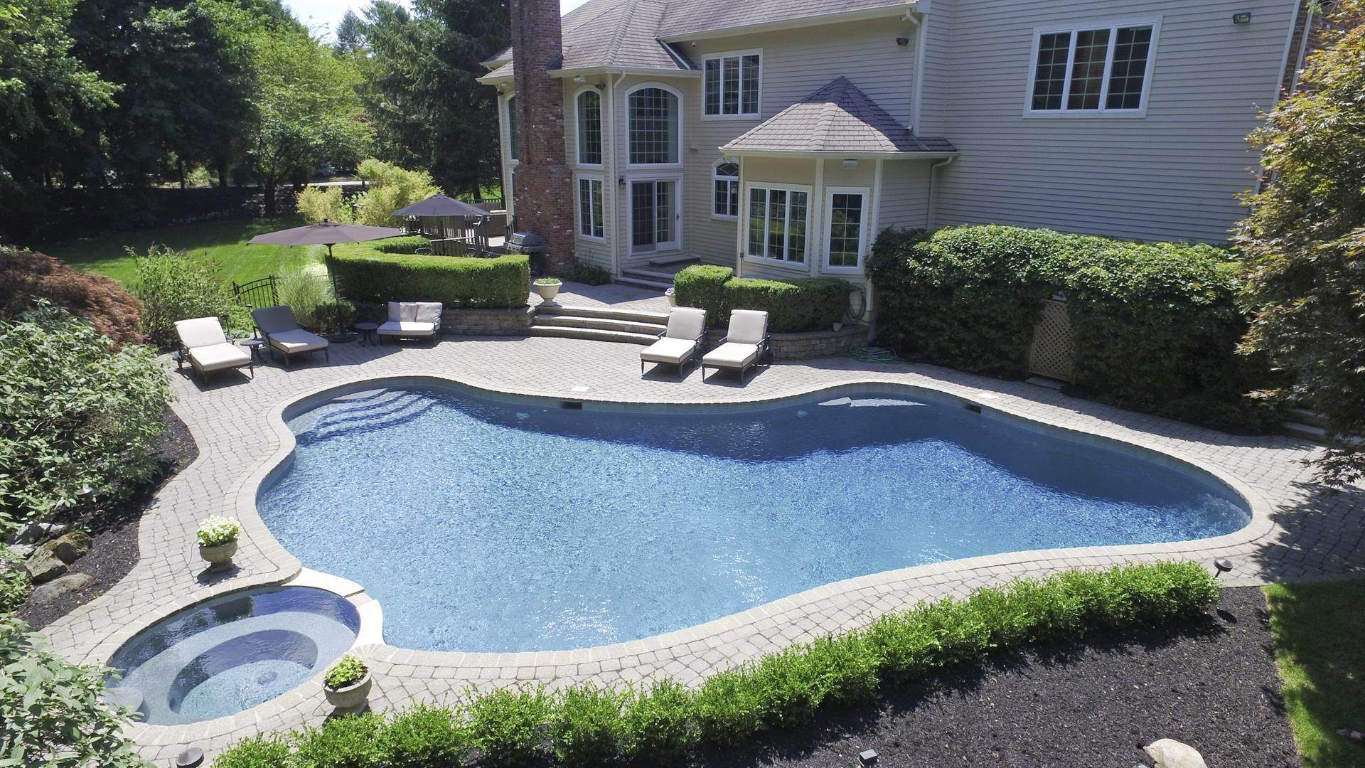 22. Single Family Home por un Venta en Decorator Showplace Franklin Lakes, Nueva Jersey,07417 Estados Unidos