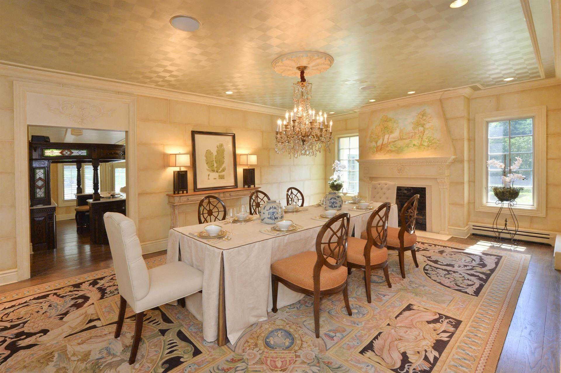 7. Single Family Home 為 出售 在 Celebrity Stunner - 5+ Acre Family Compound Saddle River, 新澤西州,07458 美國