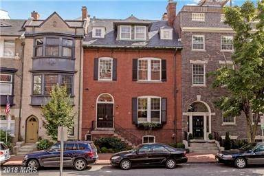 Single Family Home for Sale at Magnificent Kalorama Townhome 2132 Leroy Pl NW Washington, District Of Columbia,20008 United States