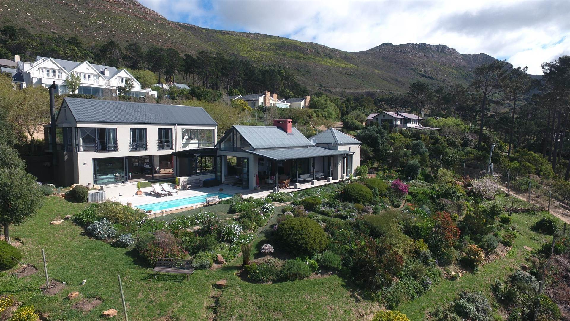 Single Family Home for Sale at Spectacular contemporary farmhouse style home in exclusive security estate Cape Town, South Africa