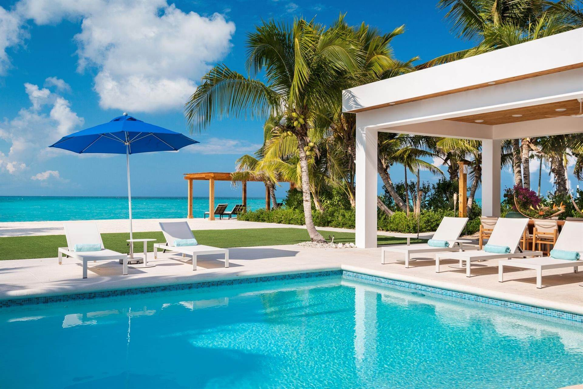 3. Estate for Sale at Beachfront, Leeward Footprints Villa Leeward, Providenciales,BWI Turks And Caicos Islands