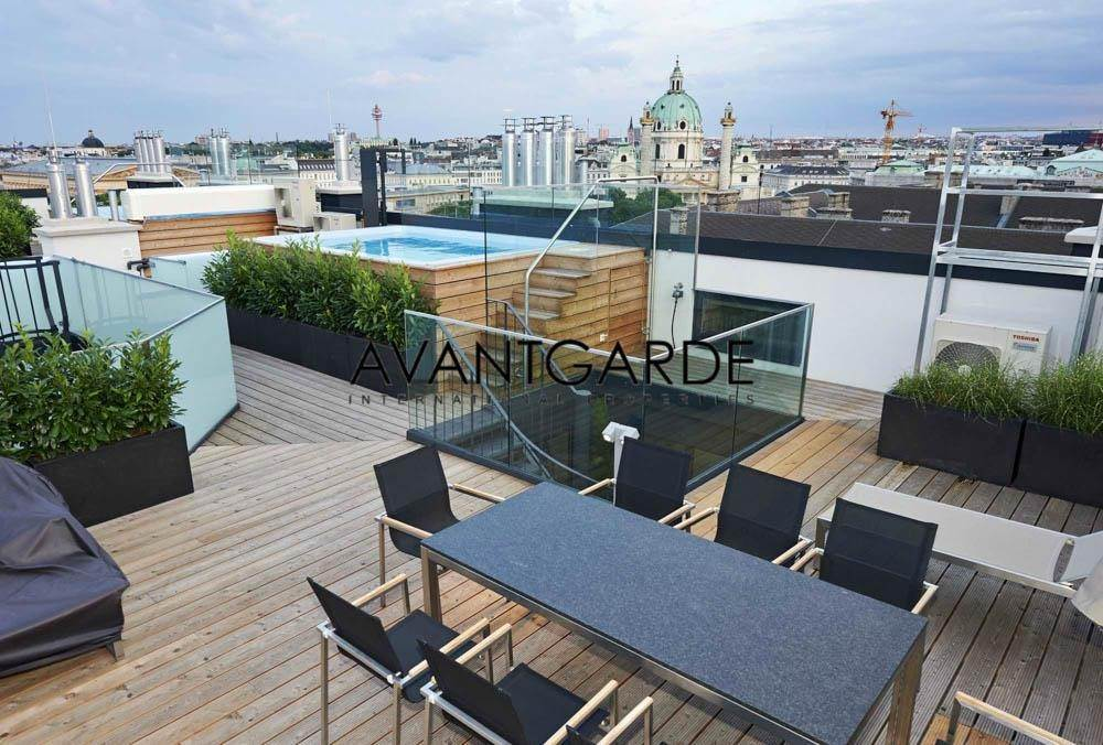 Residence/Apartment for Sale at Dream-Penthouse near the State Opera Innere Stadt, Vienna,1010 Austria