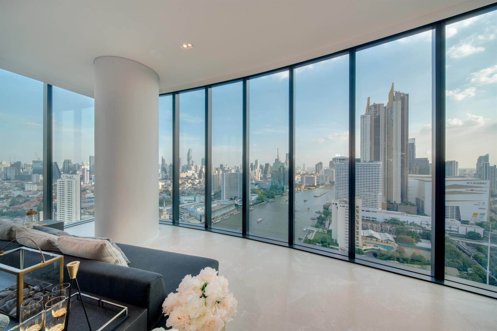 Condominium for Sale at Banyan Tree Residences Riverside Bangkok, 3-Bedroom, Simplex Riverside, Bangkok, Bangkok, Thailand