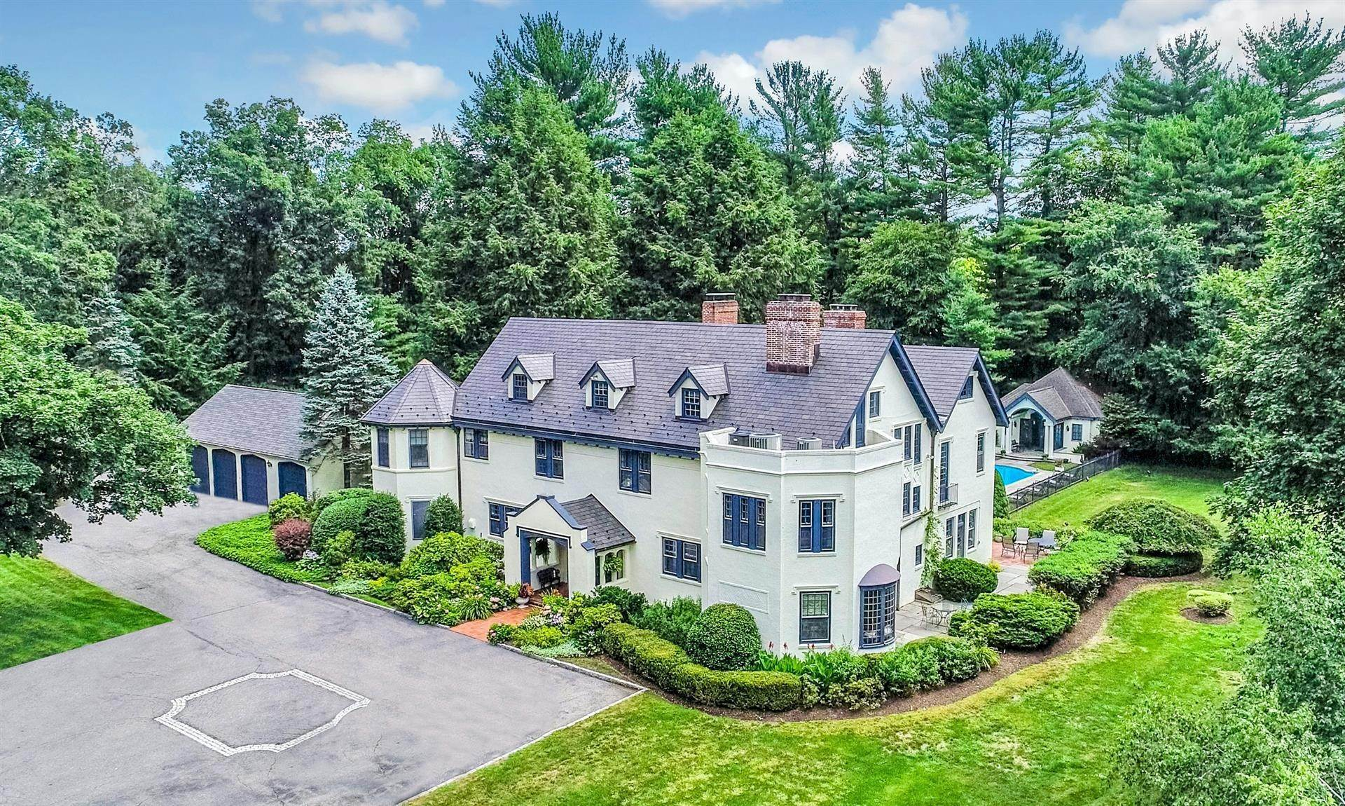 Single Family Home for Sale at Beaconsfield Estate 249 Bedford Center Road Bedford Hills, New York,10507 United States