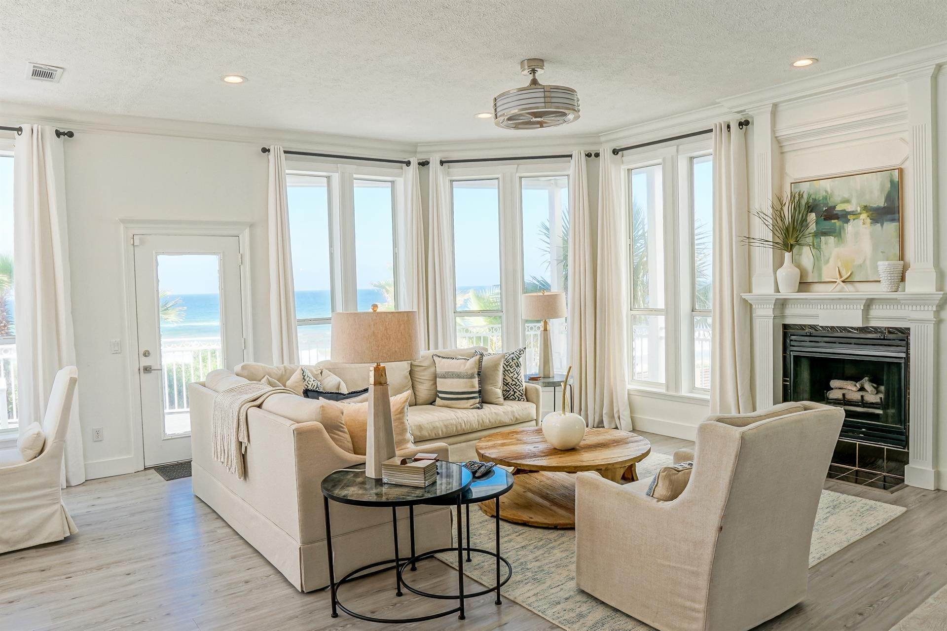 6. Single Family Home 为 出租 在 Oceanfront on Scenic 30A, Florida 8870 E. County Hwy 30A, Seacrest, FL 32461 西克雷斯特, 佛罗里达州,32461 美国