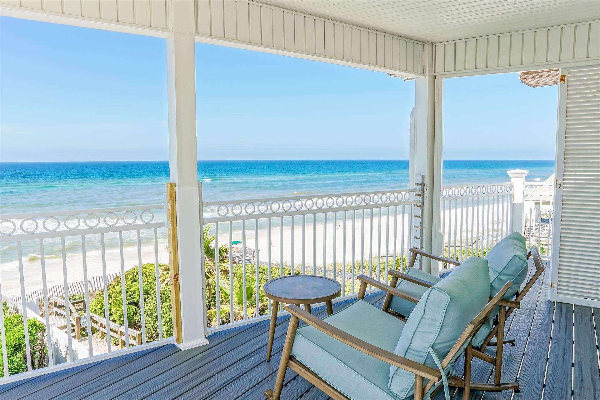 11. Single Family Home 为 出租 在 Oceanfront on Scenic 30A, Florida 8870 E. County Hwy 30A, Seacrest, FL 32461 西克雷斯特, 佛罗里达州,32461 美国