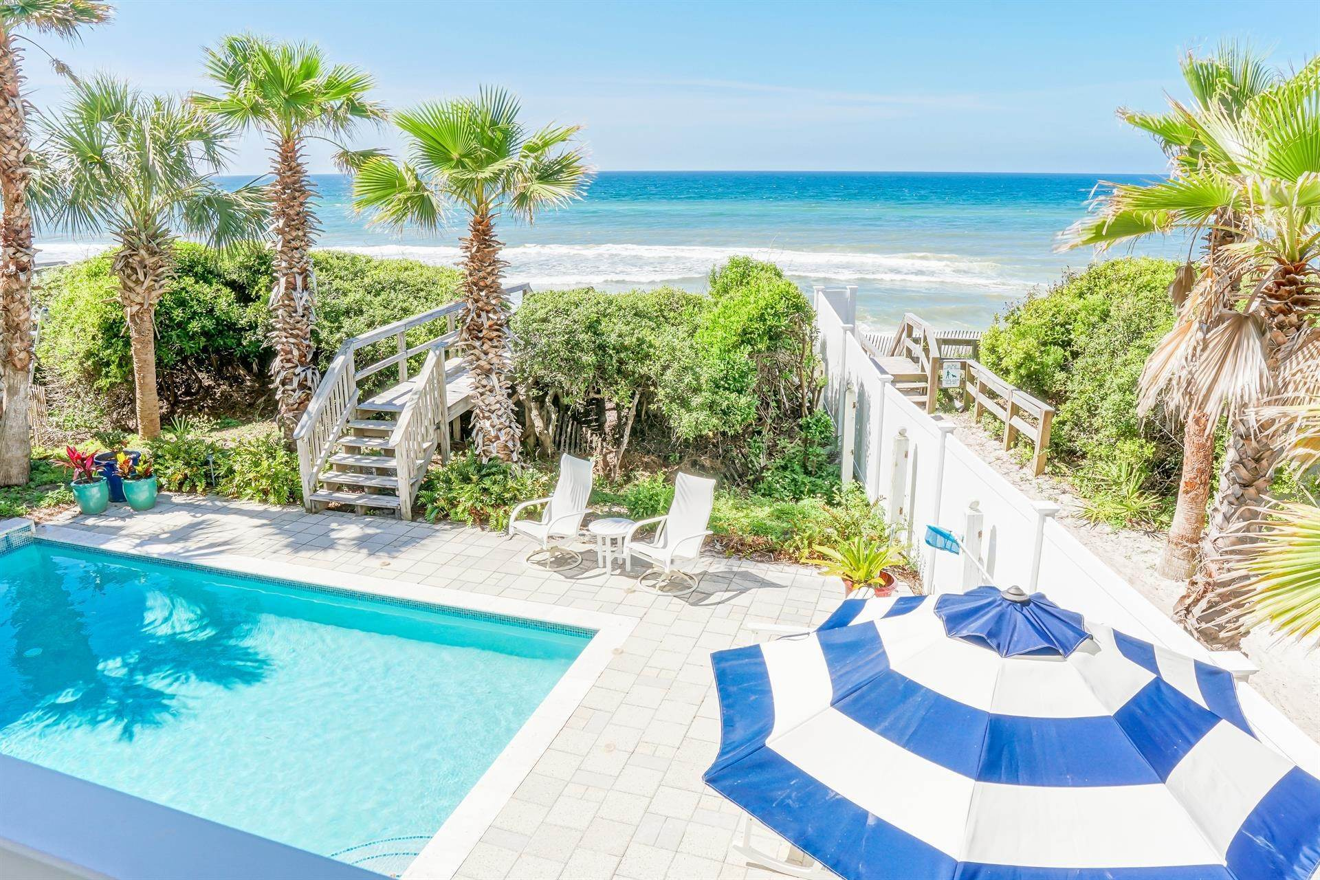 12. Single Family Home 为 出租 在 Oceanfront on Scenic 30A, Florida 8870 E. County Hwy 30A, Seacrest, FL 32461 西克雷斯特, 佛罗里达州,32461 美国