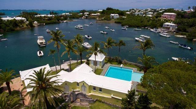 2. Waterfront Property voor Verkoop op Palomera In Fairylands 7 Mills Shares Road Pembroke Parish, Bermuda,HM05 Bermuda