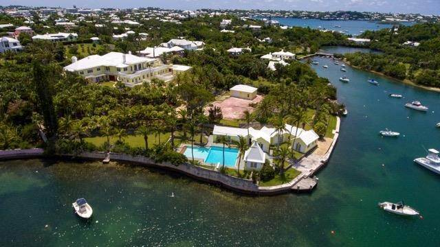 4. Waterfront Property voor Verkoop op Palomera In Fairylands 7 Mills Shares Road Pembroke Parish, Bermuda,HM05 Bermuda